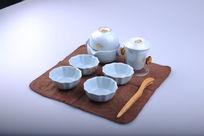 精美陶瓷茶具套装展示图