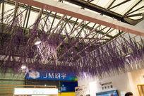 展厅花朵装饰