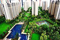 地产建筑绿化设施