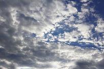 阳光下的天空