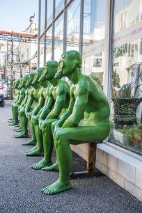 绿色环保主题人物