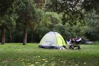 户外休闲的帐篷