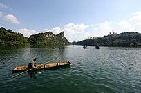 花溪水库湖面