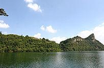 花溪水库湖水