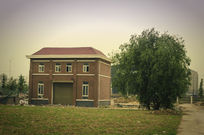 校园里的小房子
