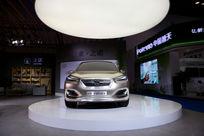 北京新能源车展之诺品牌展台