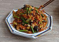 川菜鱼香肉丝