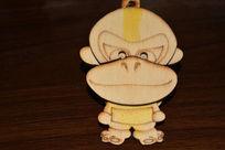 小猴钥匙扣