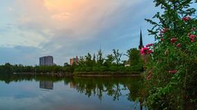 成都南湖公园建筑