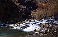 松坪沟瀑布流水