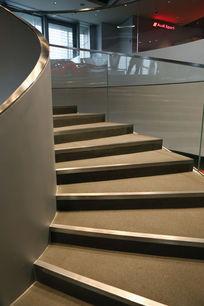 奥迪汽车专卖店旋转楼梯