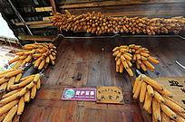 农家的玉米棒
