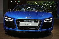 奥迪汽车R8V10正脸特写