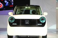 北京车展上的本田新概念汽车