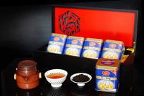 红茶铁罐实木盒包装
