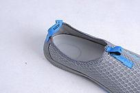 蓝色网布鞋内细节