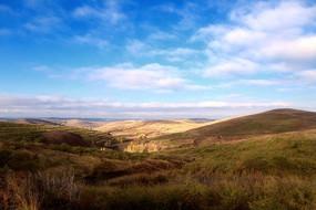 美丽的张北草原天路风光
