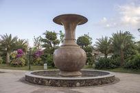 五象湖大花瓶雕刻