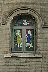 北京亚斯立堂基督教会崇文门堂窗户