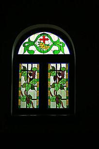 北京亚斯立堂基督教会崇文门堂的彩色玻璃