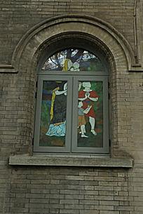 北京亚斯立堂基督教会崇文门堂外窗