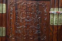 红木家具上的雕刻图案