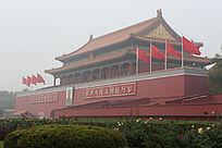 威严的北京天安门城楼