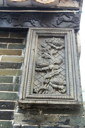 石刻艺术花