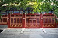 北京中央音乐学院红色大门