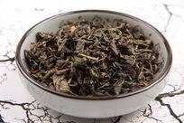 绿茶药材摄影图