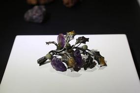 北京国际当代金属艺术展金色花展品