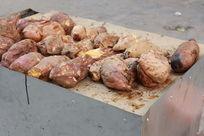 烤地瓜烤番薯