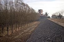 黄河大坝引水闸