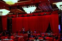 婚宴酒店舞台布置酒席摆台