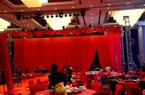酒店婚宴舞台布置图