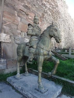 骑马的武士