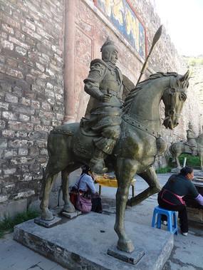 武士与骏马