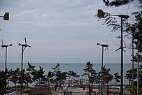 海边游乐场
