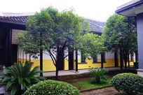 湖南一师校园庭院建筑风景