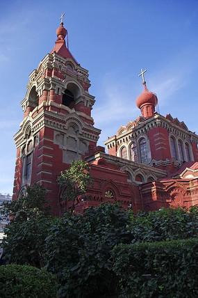 巴洛克风格建筑教堂
