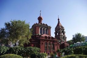 巴洛克风格建筑圣阿列克谢耶夫教堂