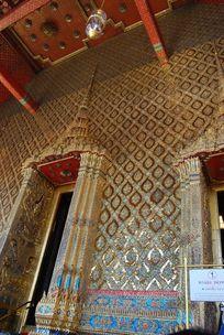 泰国建筑艺术墙面装饰