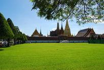 泰王宫草坪