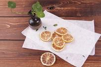花茶图片柠檬片