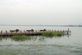 苏州湾太湖风光