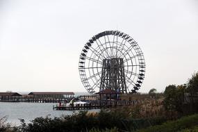 苏州湾太湖水车公园