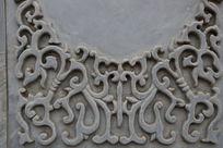 传统花纹石雕