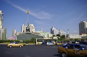 繁华都市广场建筑