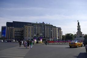 繁华都市建筑
