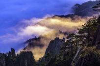 黄山光明顶云海风景